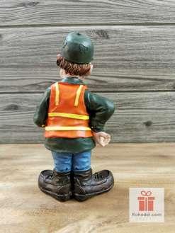 Забавна статуетка Ловец - оригинален подарък за ловец.
