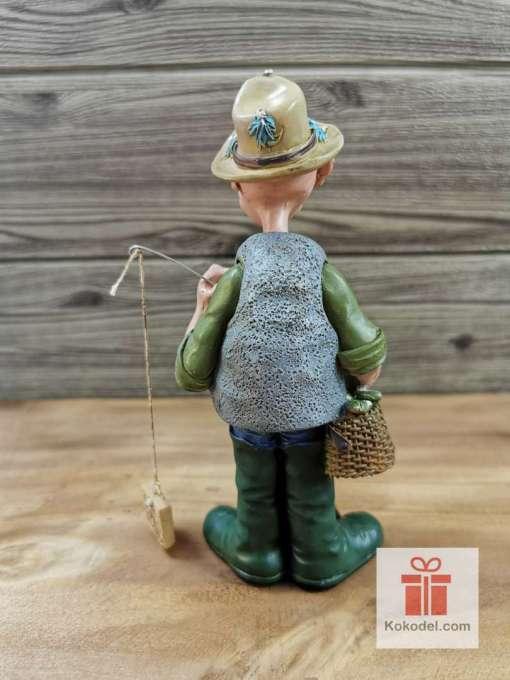 Статуетка рибар - Забавен подарък за рибар