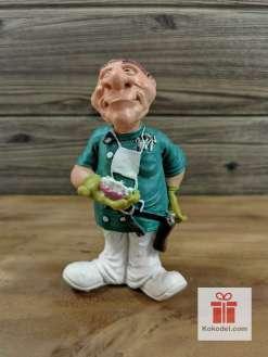 Статуетка Зъболекар 1 - Забавен подарък за зъболекар