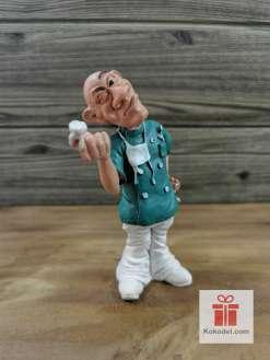 Статуетка Зъболекар 2 - Забавен подарък за зъболекар