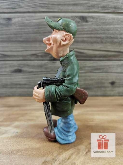 Статуетка Ловджия - Забавен подарък за ловджия